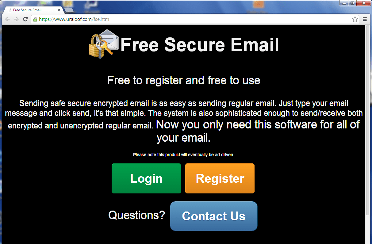 Free Secure Email