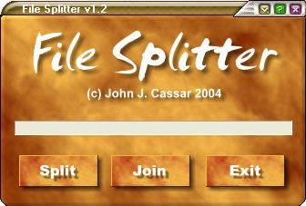 JJC File Splitter