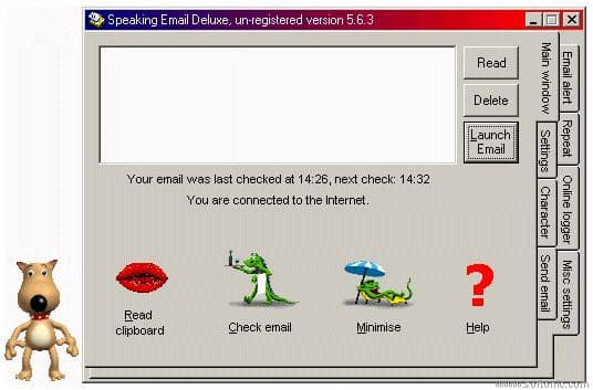 Speaking E-mail Deluxe
