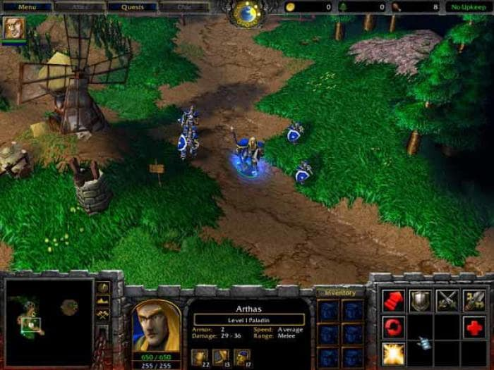 Files for Warcraft III: Reign of Chaos
