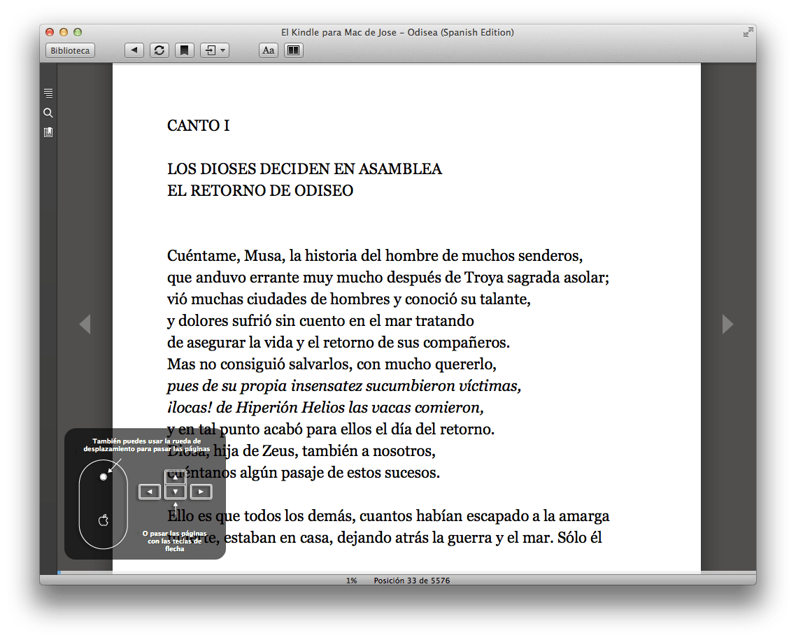 Kindle for Mac 1.10.6