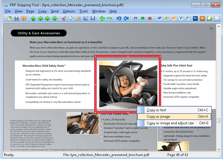 PDF Snipping Tool