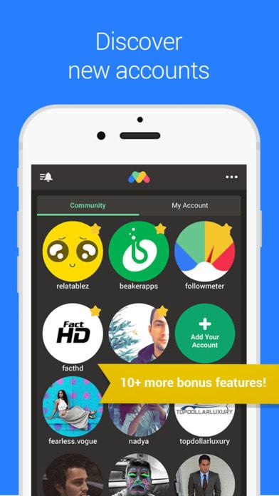 FollowMeter for Instagram - Followers Tracking