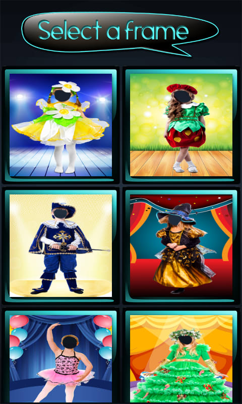 Kids Costumes Photo Montages