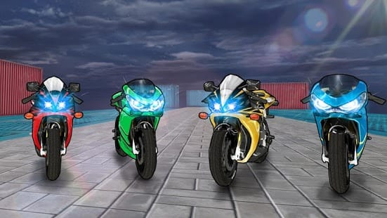 Spider Hero Racing : Bike Edition