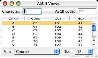 ASCII Viewer
