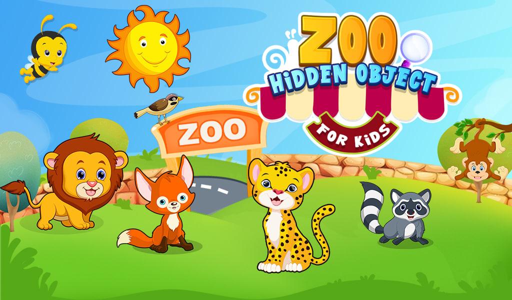 Zoo Hidden Object For Kids