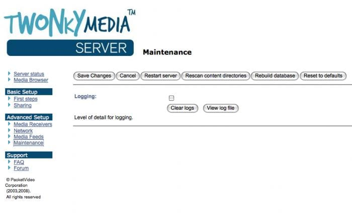TwonkyMedia Server