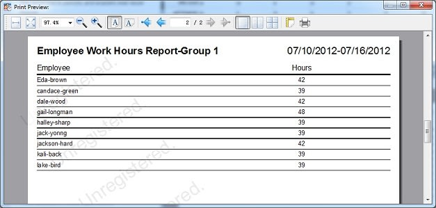 Auto Employee Schedule - Download