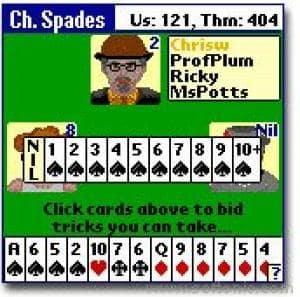 Championship Spades Card Game