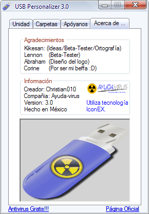 USB Personalizer