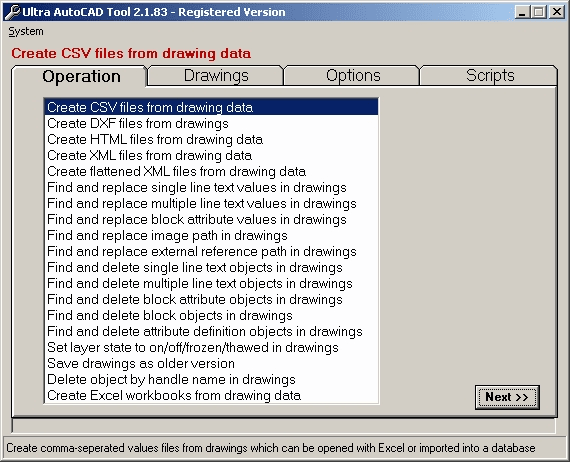 Ultra AutoCAD Tool