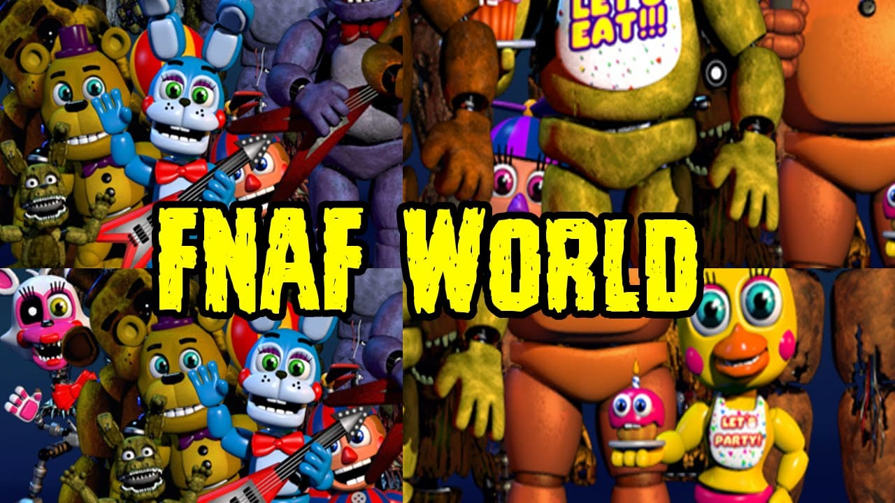 FNaF World: Halloween Edition