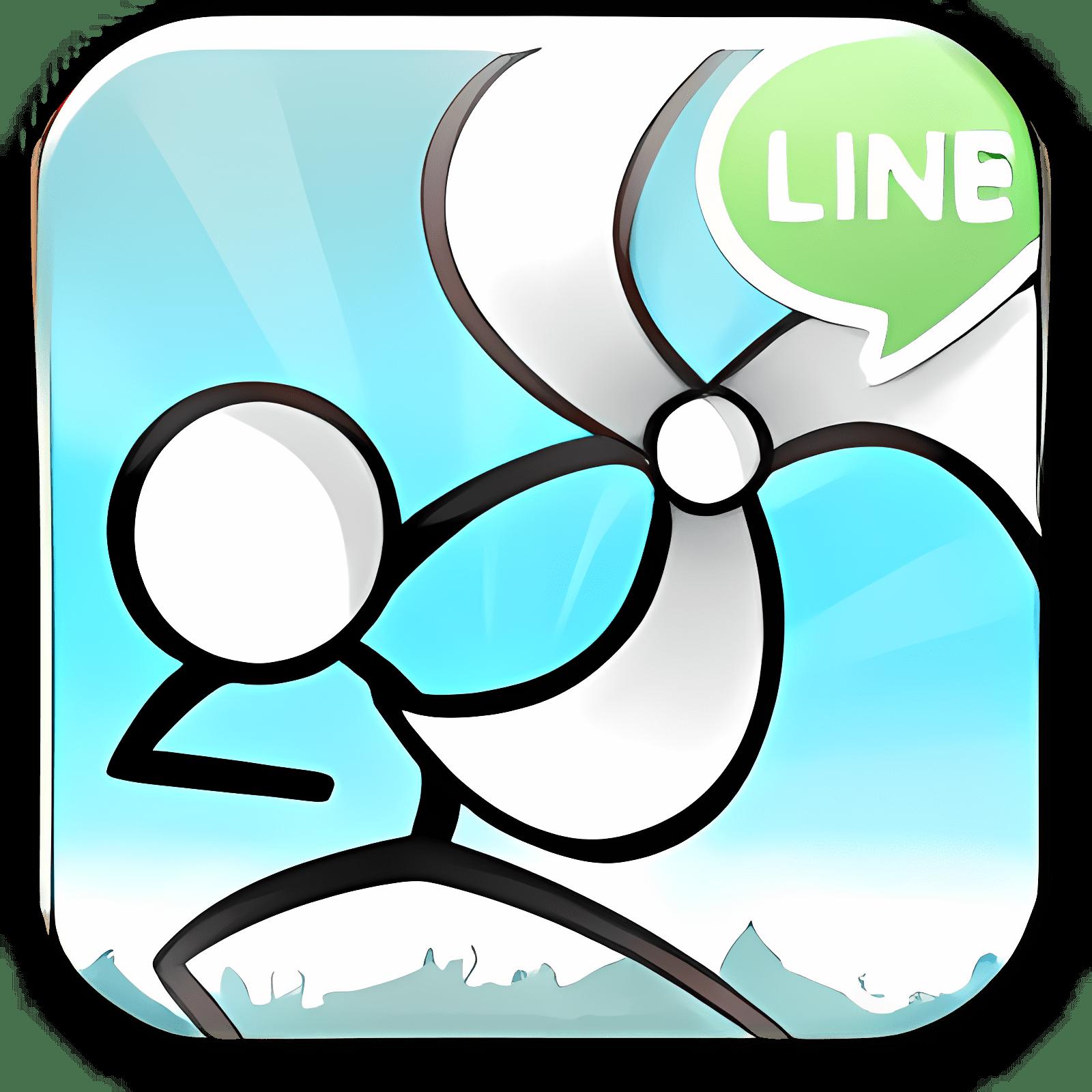 LINE cartoon wars