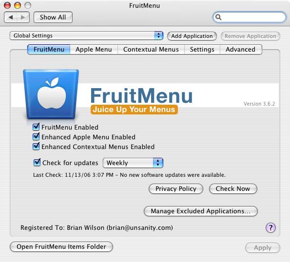 FruitMenu