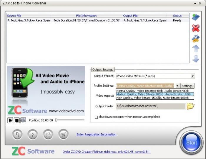 ZC iPhone Converter