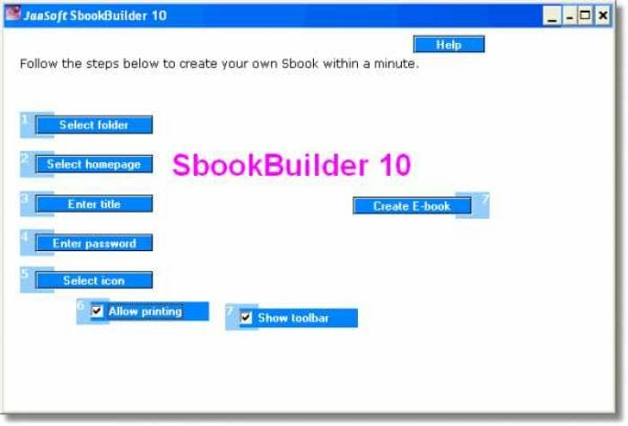 SbookBuilder