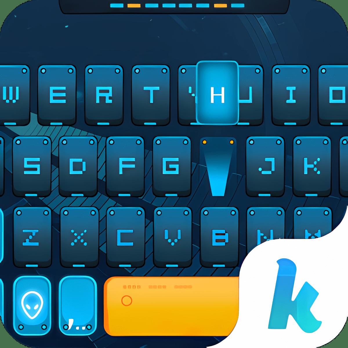 Future Warrior Kika Keyboard 1.0