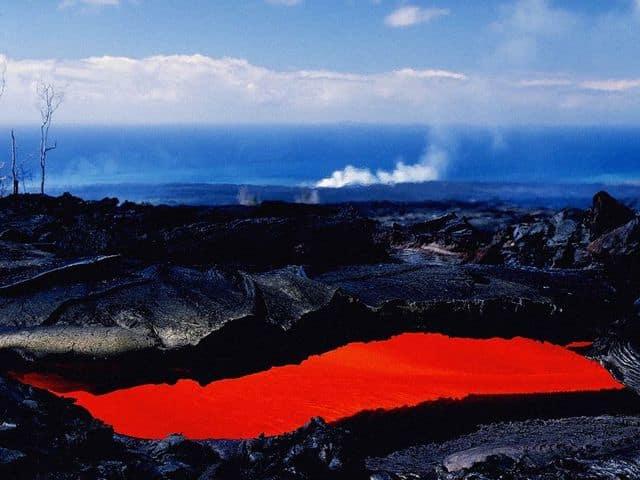 Powerful Volcanoes Free Screensaver