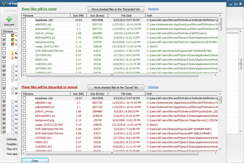 +A Duplicate File Finder