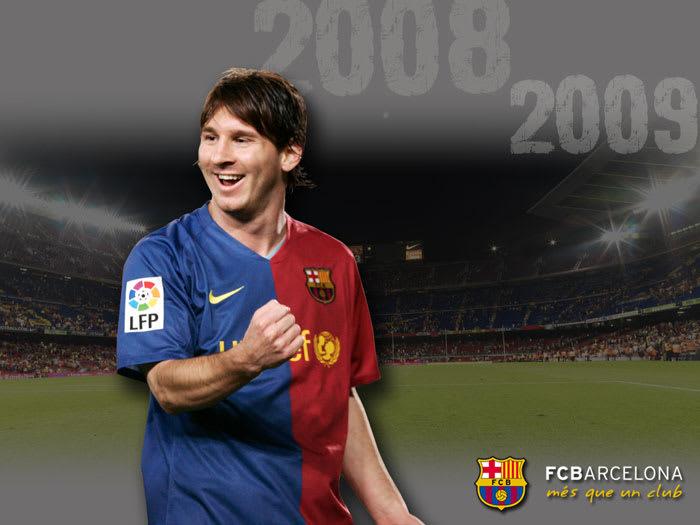 FC Barcelona Leo Messi Wallpaper