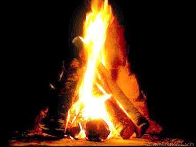 LOOPS Fireplace Screensaver