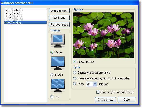 Wallpaper Switcher .NET