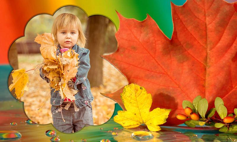 Autumn Photo Selfie