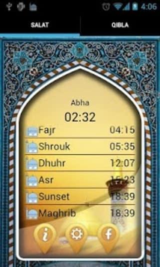 Salat Alarm and Qibla Compass