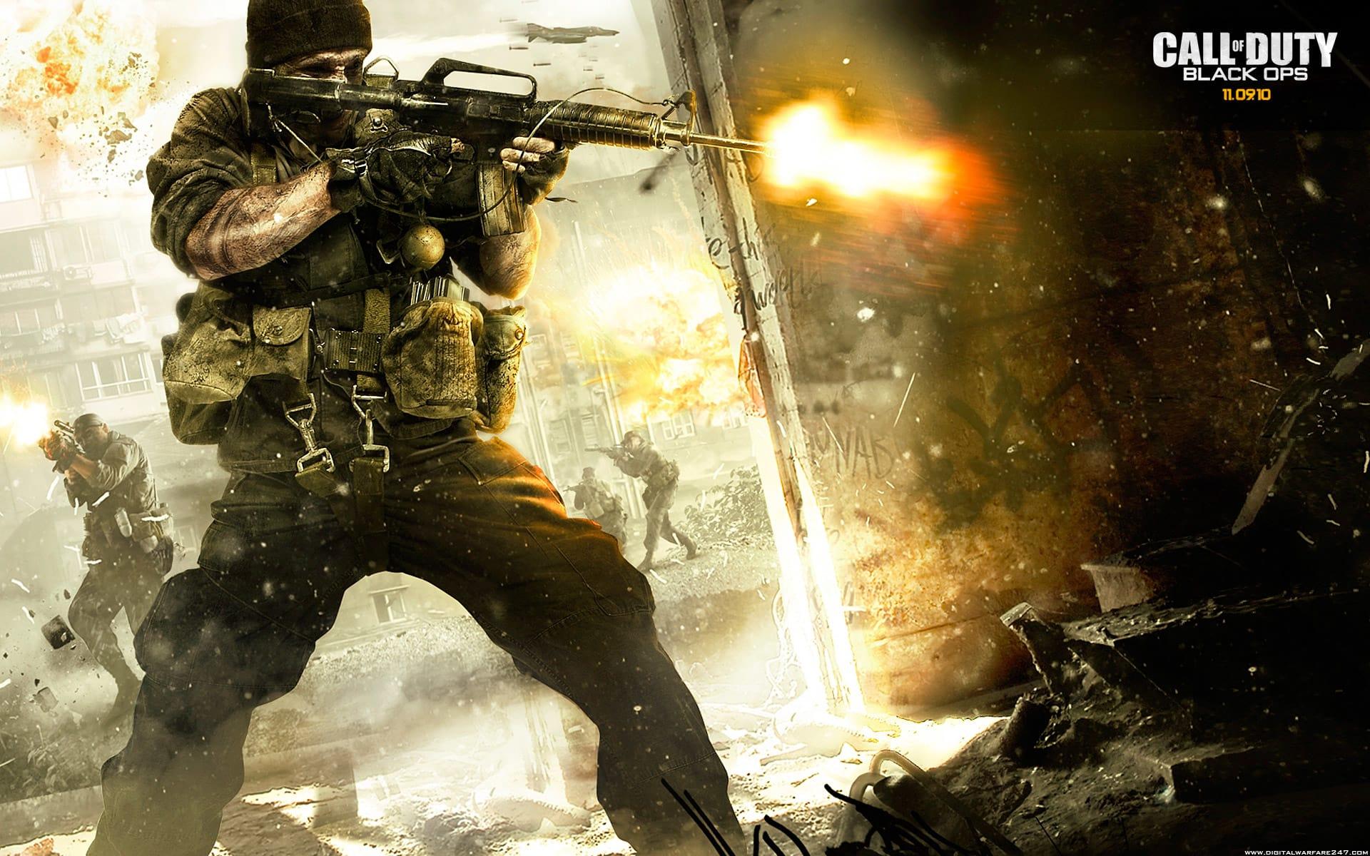 Call Of Duty Black Ops Papel De Parede Para Mac