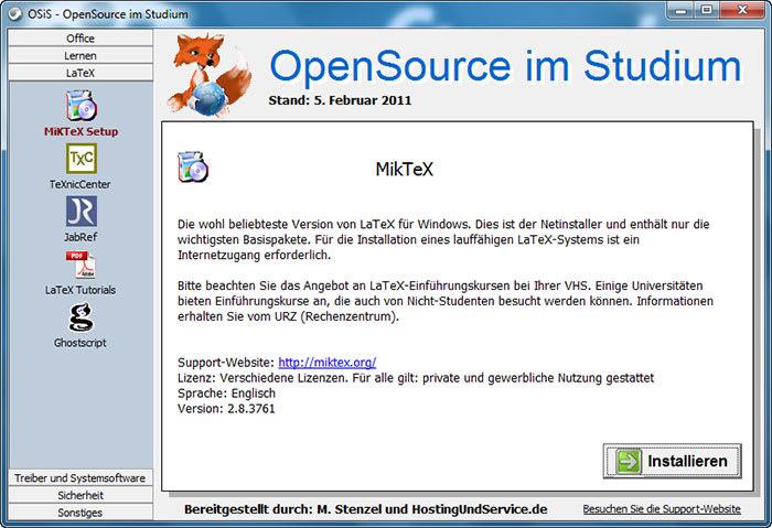OpenSource im Studium