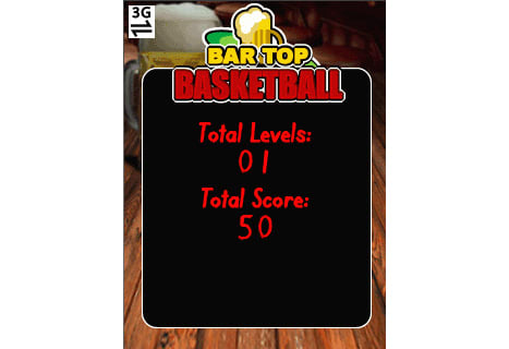 Bar Top Basketball