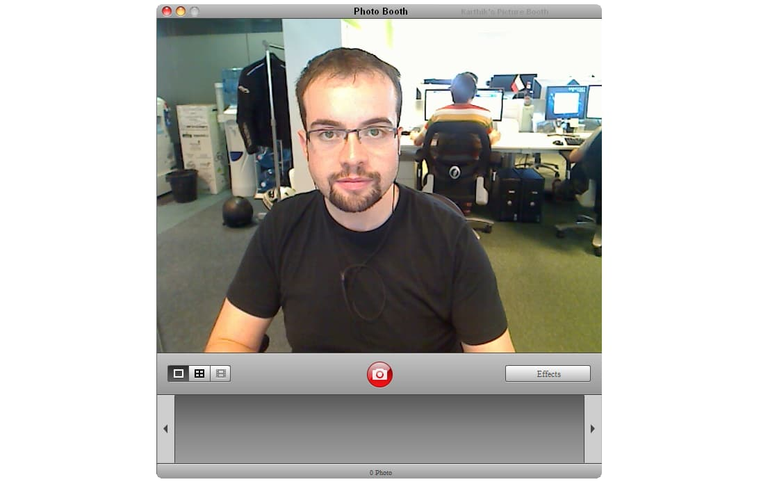 Photo Booth pour Windows 7