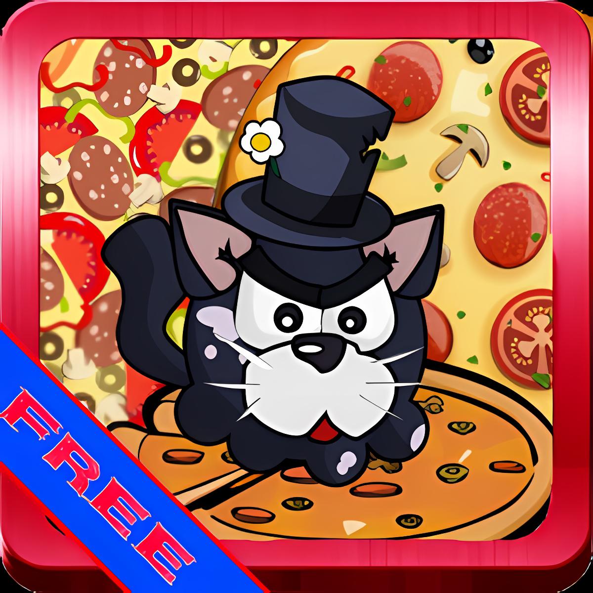 Gatos y pizza