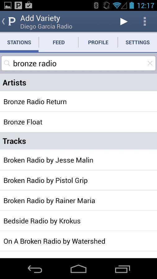 Pandora Radio Para Android