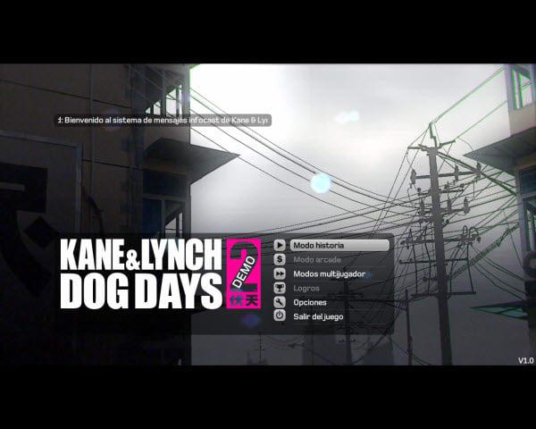 Kane and Lynch 2: Dog Days