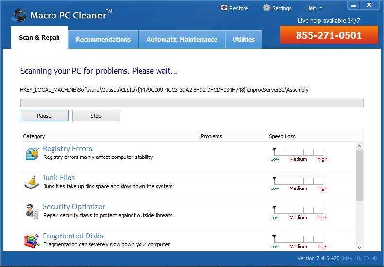 Macro PC Cleaner