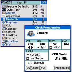 PXA Clocker