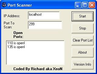 Port Scanner