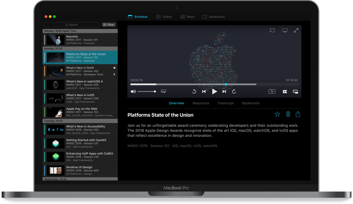 WWDC 2017 for macOS