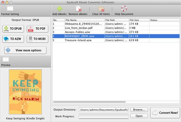 Ebook Converter Mac