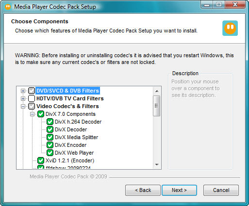 Media Player Codec Pack