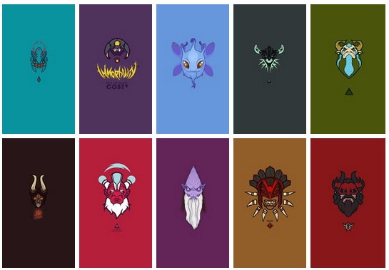 DOTA 2 wallpapers for mobile phone