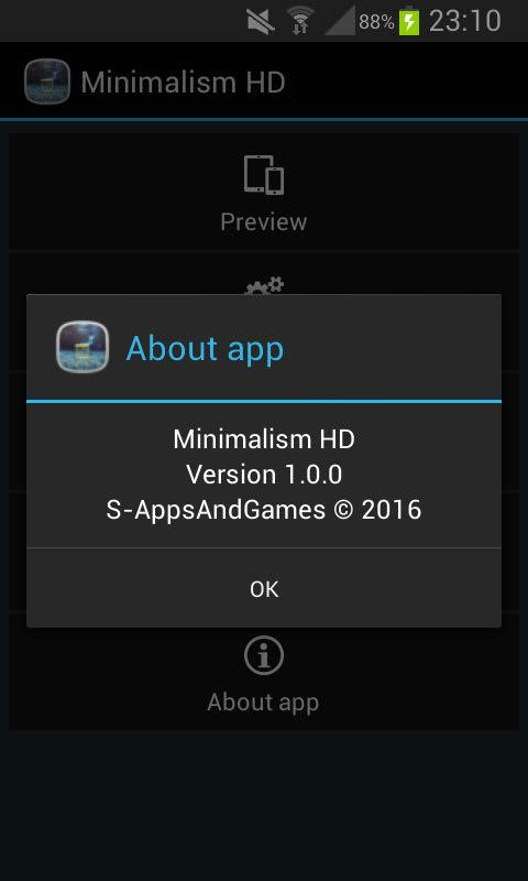 Minimalism HD Free LWP