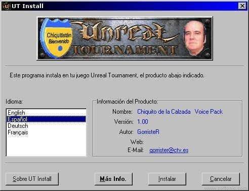 Chiquito VoicePack