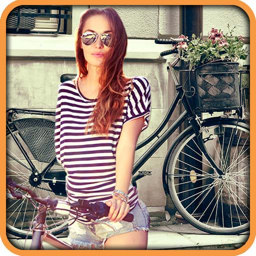 Bike Photo Frames