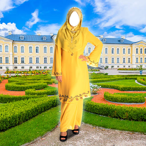 Hijab Fashion Photo Maker