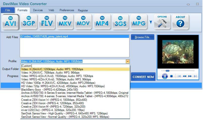 DAVIMAX Video Converter