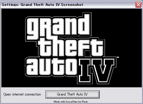 Grand Theft Auto IV Screensaver (GTA) 1