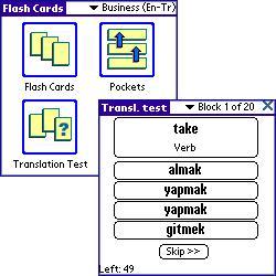 ECTACO FlashCards English - Turkish
